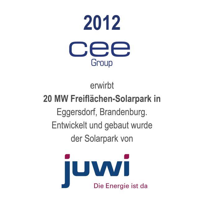 Solarpark Eggersdorf, Brandenburg