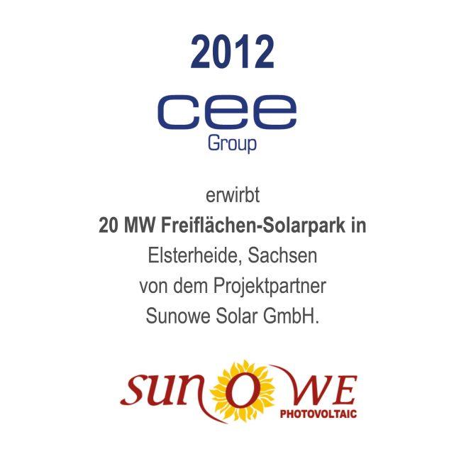 Solarpark Elsterheide, Sachsen