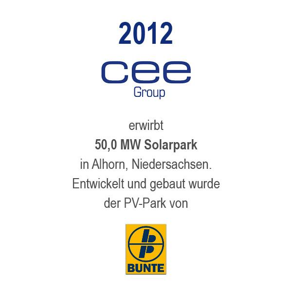 Solarpark Alhorn, Niedersachsen