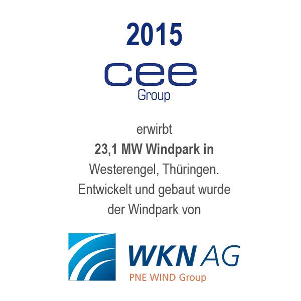 Windfarm Westerengel, Thüringen