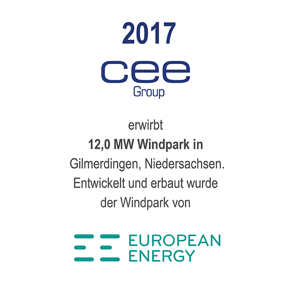 Windfarm Gilmerdingen, Niedersachsen