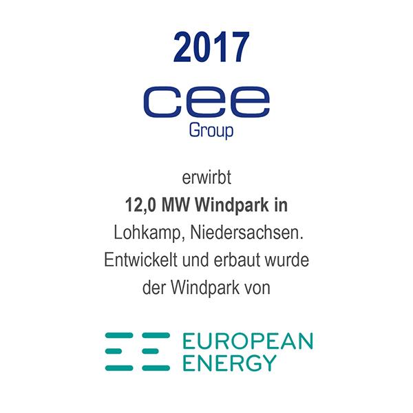 Windfarm Lohkamp, Niedersachsen
