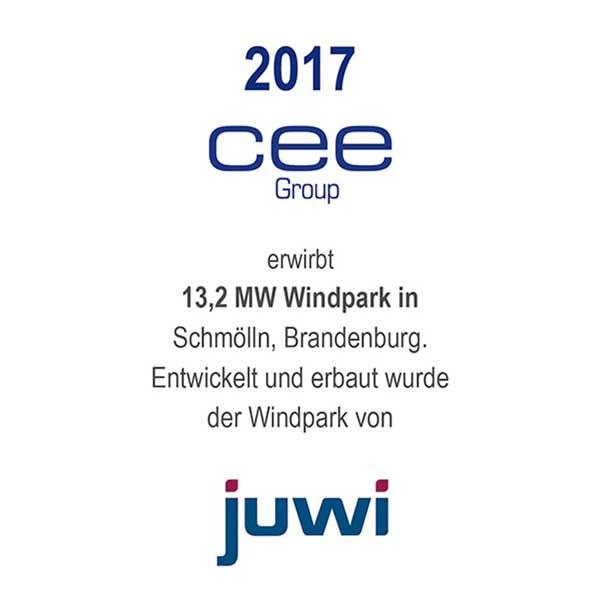 Windpark Schmölln, Brandenburg