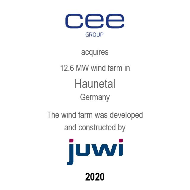 Windfarm Haunetal